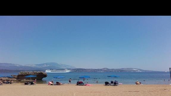Plaża z transportem  hotelowym