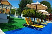 Hotel Ionian Sea - teren  przy basenie