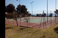 Hotel Club Esse Palmasera Resort - kort tenisowy