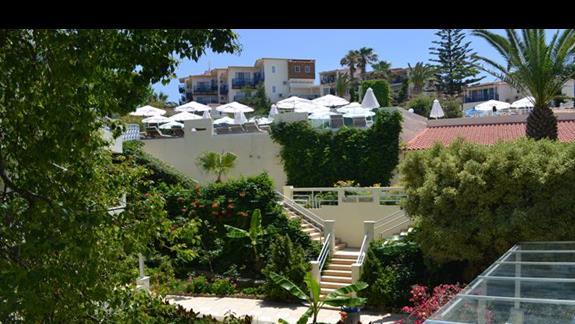 Teren hotelu Rethymno Mare