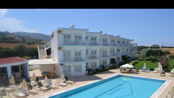 Basen w hotelu Nicolas Villas