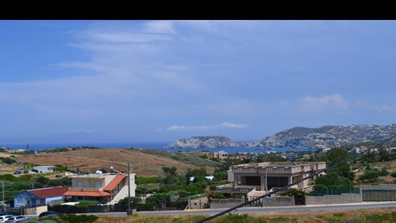 Widok z okana w hotelu Nicolas Villas