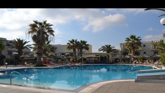 Basen relaksacyjny w hotelu Europa Beach