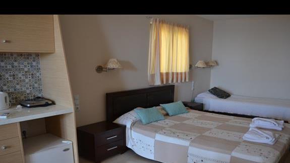Pokój junior superior w hotelu Elounda Waterpark Residence