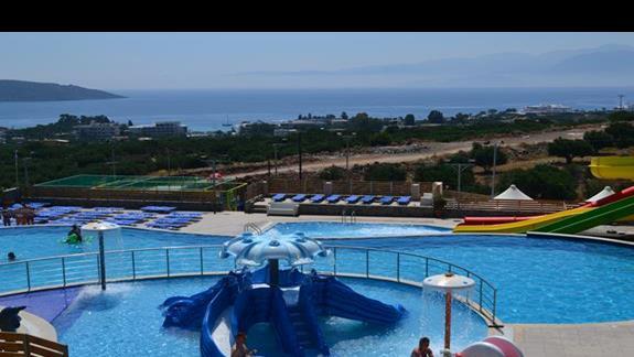 Minizjeżdżalnie w hotelu Elounda Waterpark Residence