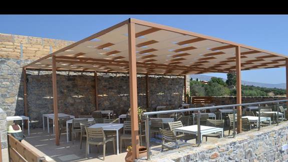 Pool Bar w hotelu Elounda Waterpark Residence