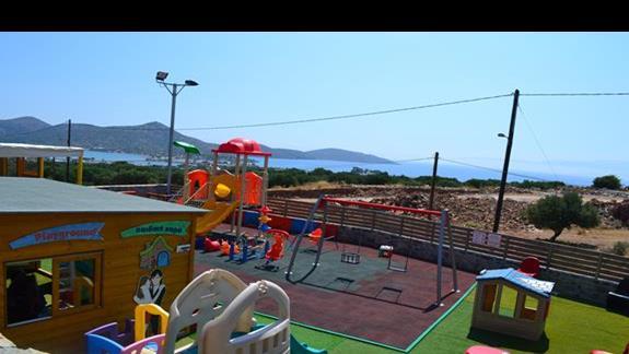 Plac zabaw w hotelu Elounda Waterpark Residence