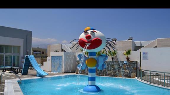 Atrakcje wodne w hotelu Sissi Bay