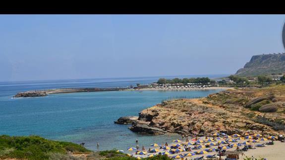 Plaża w okolicy hotelu Sissi Bay