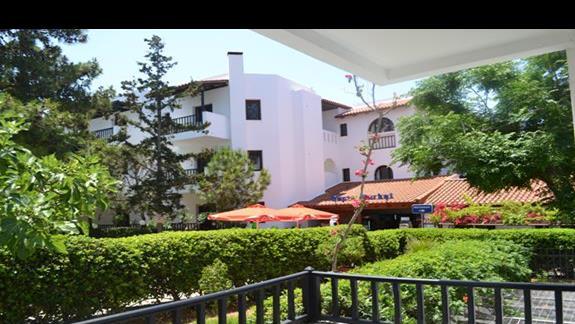 Teren hotelu Lyda Club