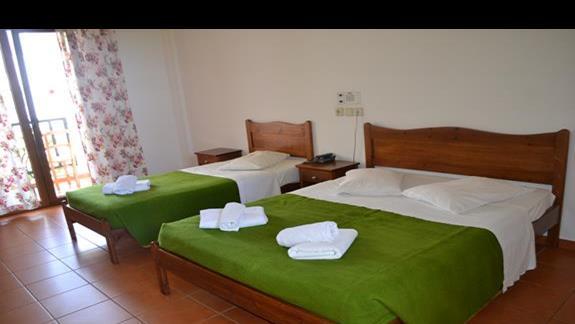 Pokój standardowy w hotelu Lyda Club
