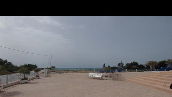 Widok z tarasu Caretta Sea View