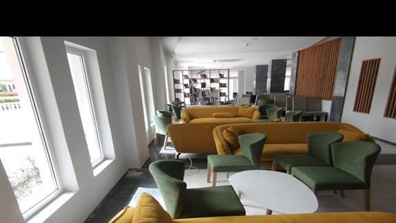 Lobby w hotelu Exotica