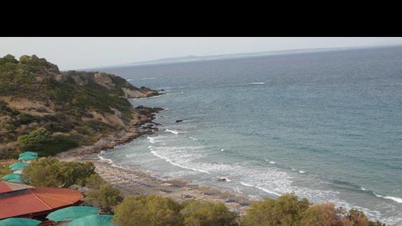 Plaża przy Royal Zante