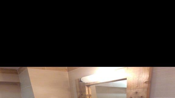 Łazienka w pokoju standard Arion
