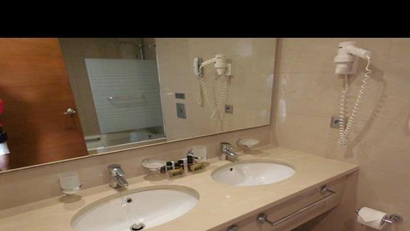 Łazienka w pokoju standard w Apollonion
