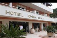 Hotel Ionian Sea - front hotelu Ionian Sea