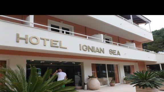 front hotelu Ionian Sea