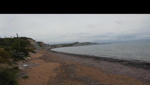 Plaża przy hotelu Ionian Sea
