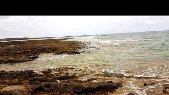 plaża przy hotelu :(