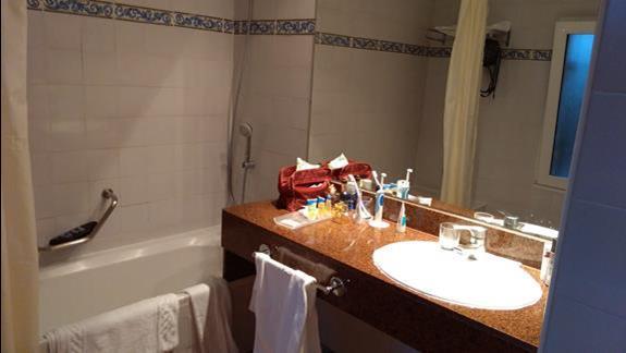 łazienka w bungalow