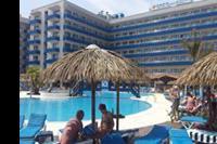 Hotel Tahiti Playa - Basen i budynek hotelowy