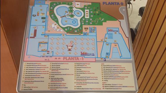 Plan hotelu