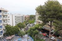 Hotel Santa Monica Playa - widok z balkonu na miasto w hotelu Santa Monica Playa
