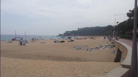 Plaża w Fenals