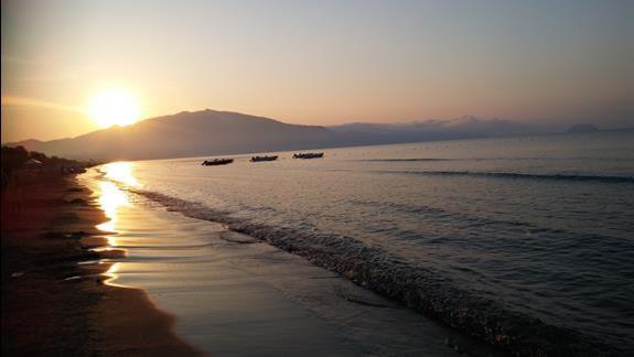 Plaża o poranku