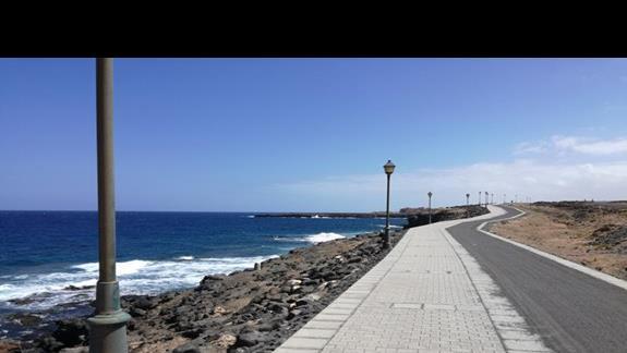 Droga w stronę plaży