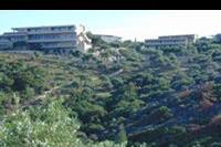 Hotel Aeolis Thassos Palace - Widok z plaży na hotel