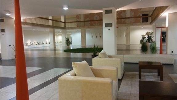 Luksusowe wnętrze hotelu