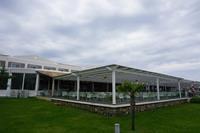 Hotel Labranda Sandy Beach - teren hotelowy - restauracja z zewnątrz