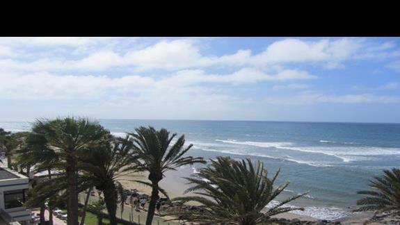 Ifa Faro plaża, widok na morze