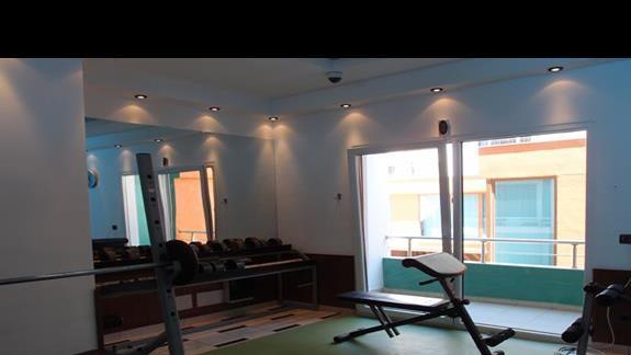 Hotelowa siłownia