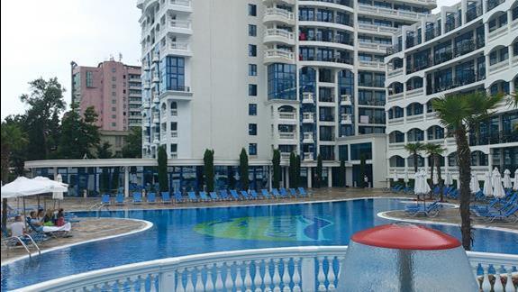 widok basenu wewnętrzego