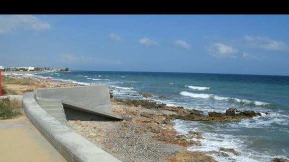 najbliższe zejście do morza