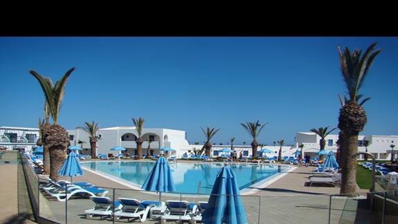 basen w spokojniejszej strefie hotelu Lyttos Beach