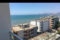 Hotel Sun - widok z balkonu 6 piętro