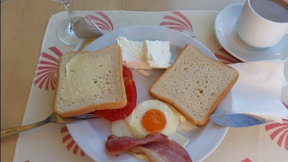 Stały zestaw śniadaniowy