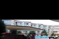 Hotel Sun City - Widok z pokoju hotelowego - polecam parter