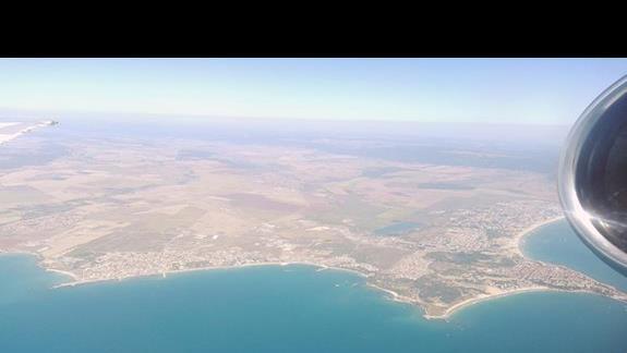 Widok z góry na okolice
