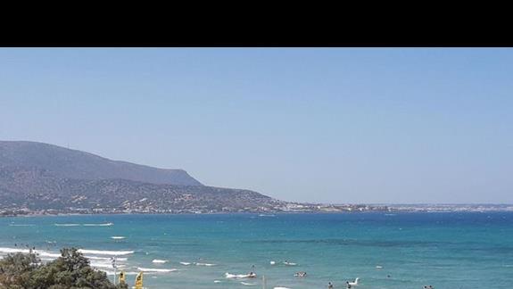 widok na plaży :)