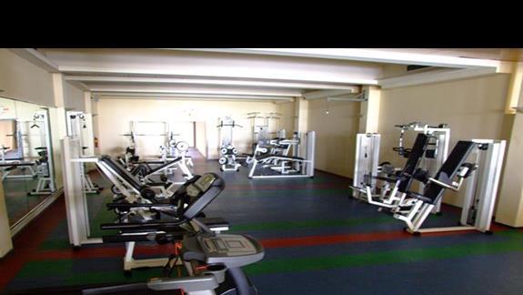 Zdjęcie siłowni w hotelu Blue Sea Beach Resort