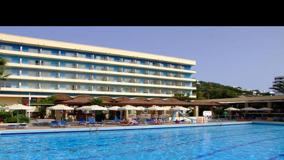 Basen zewnętrzny w hotelu Blue Sea Beach Resort