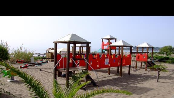 Plac zabaw dla dzieci w hotelu Blue Sea Beach Resort