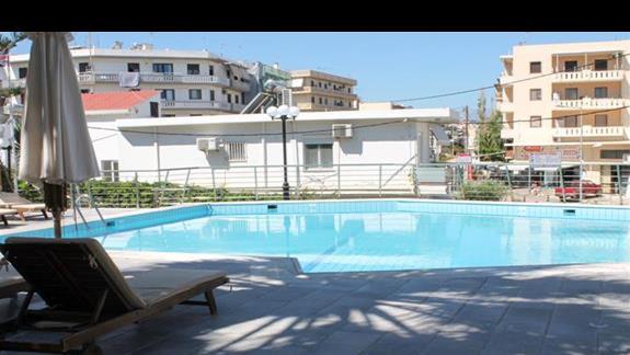 Mniejszy basen przy wejściu