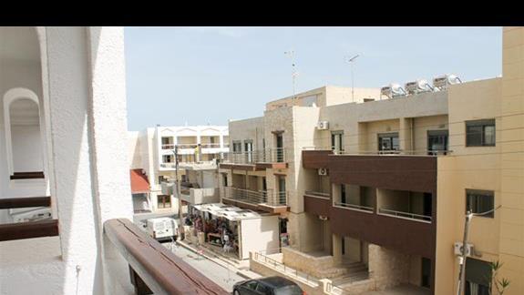 Pokój standard widok z balkonu