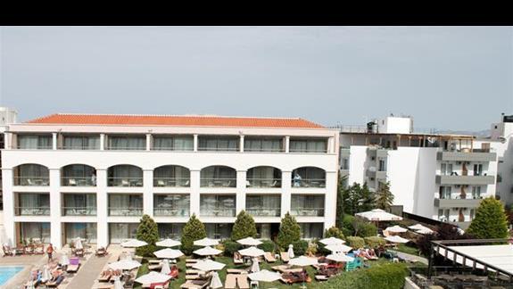 Pokój superior widok z balkonu